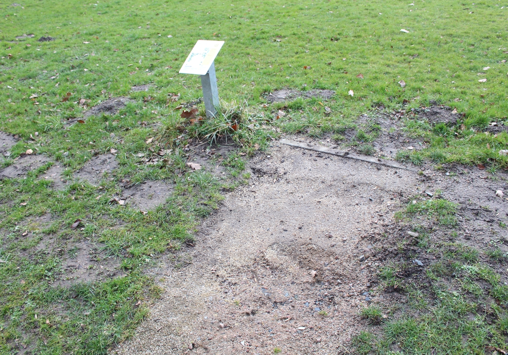 Die Abwurfflächen sind in einem schlechten Zustand und sollen saniert werden. Der Ortsrat Linden folgte dem Vorschlag der Verwaltung jedoch nicht. Archivfoto: Max Förster