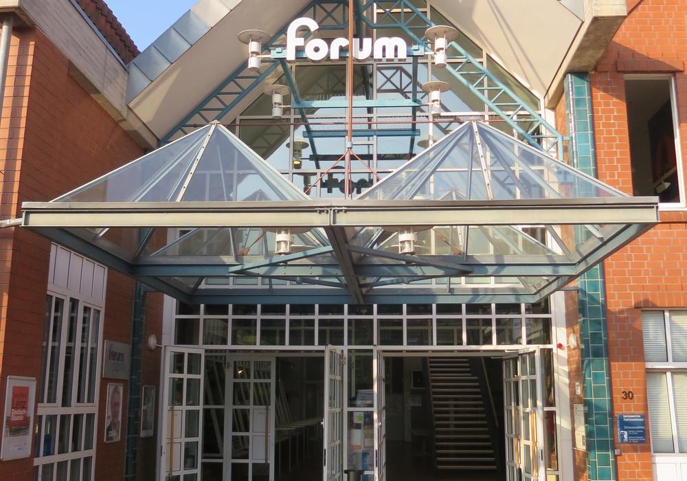 Das Forum von außen. Foto: Kulturring Peine
