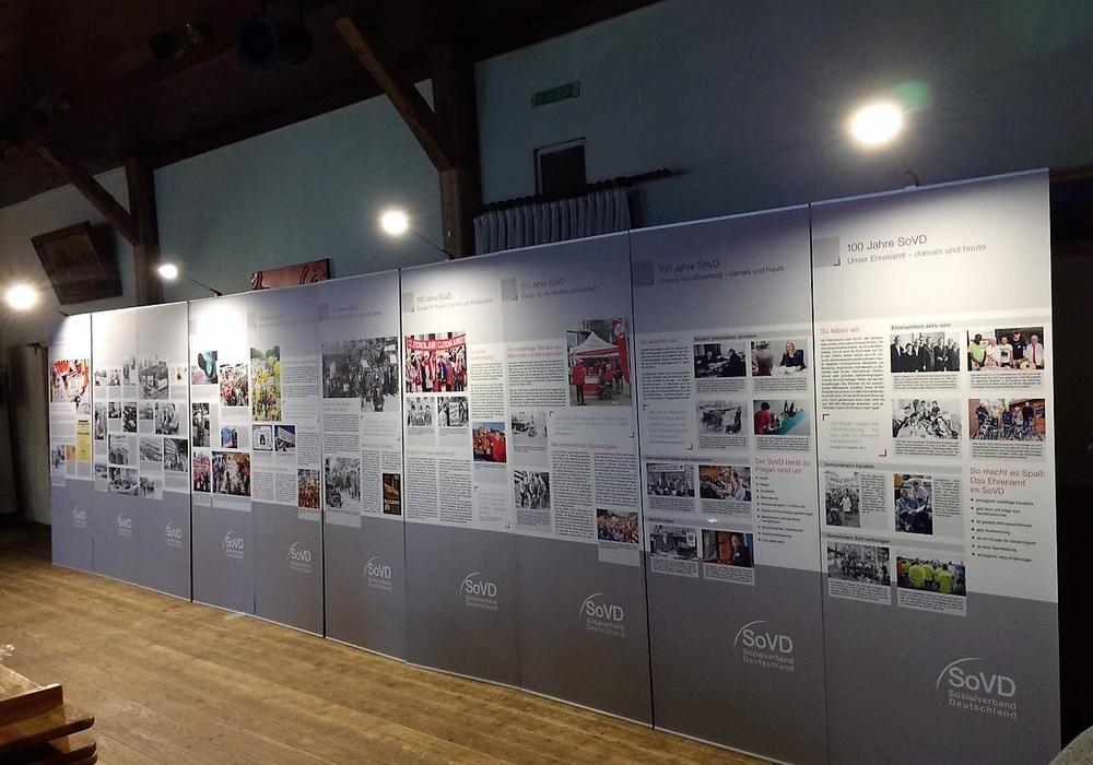 Am 20. Mai ist die Ausstellung bei Tag der Senioren in Gifhorn zu sehen. Foto: SoVD