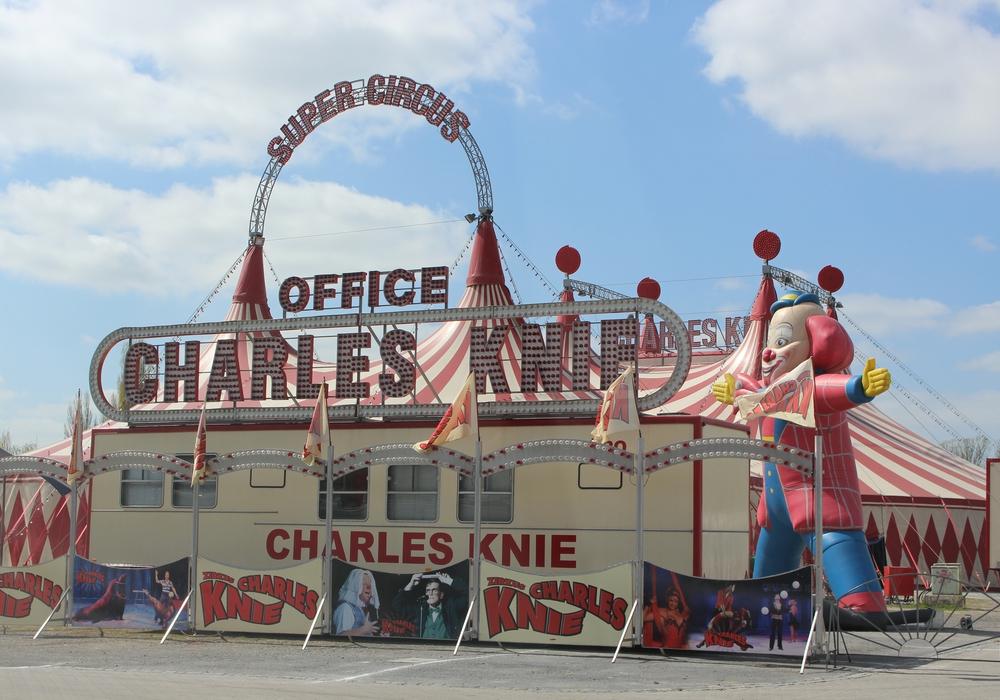 """PETA wirft dem Zirkus Charles Knie vor, die Tiere einer regelrechten """"Stresstournee"""" auszusetzen - das wollen die Veranwortlichen so nicht stehenlassen. Foto: Archiv"""