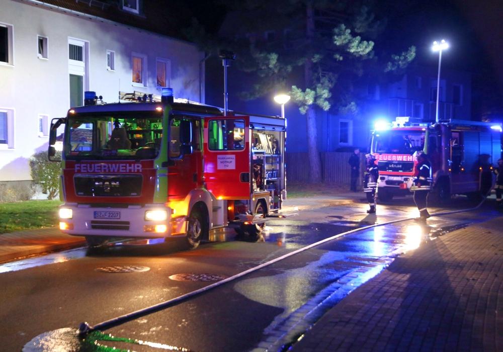 Ein Übergreifen der Flammen konnte verhindert werden. Foto: Rudolf Karliczek