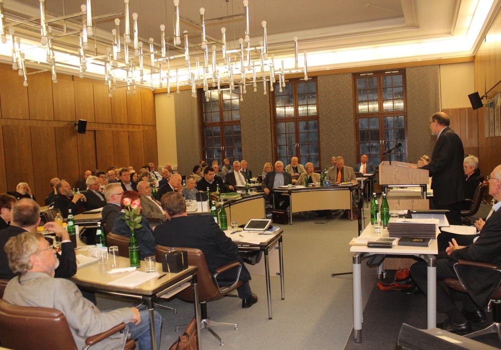 Eine Sitzung im Kreistag. Foto: Anke Donner/Archiv