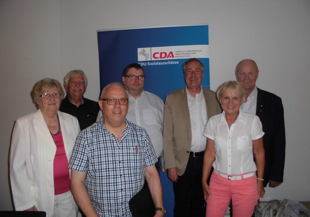 Mit sechs Delegierten war der CDA-Kreisverband Gifhorn beim CDA-Niedersachsentag vertreten. Foto: CDA