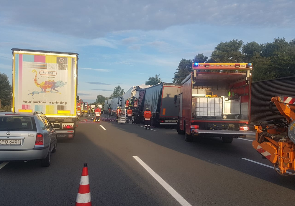 Mehrere Unfälle auf der A2 verursachen kilometerlange Staus. Foto: aktuell24