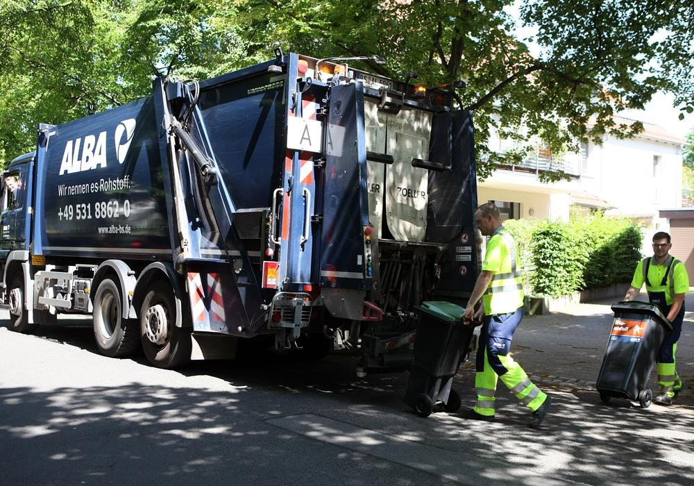 Rund um die Feiertage verschieben sich die Termine der Müllabfuhr. Foto: ALBA Group
