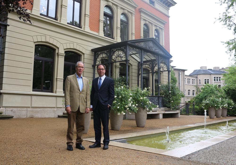 Dr. Gert Hoffmann Tobias Henkel mussten erneut Stellung zu Vorwürfen des Landesrechnungshofes nehmen. Foto: Archiv/Robert Braumann