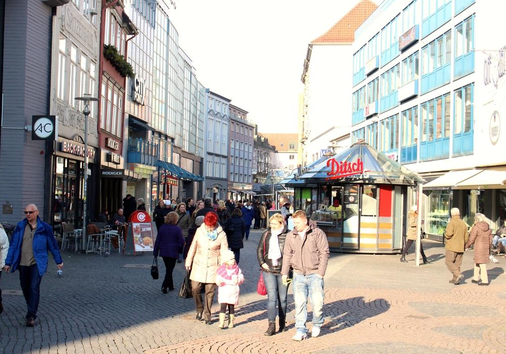 Die Braunschweiger Innenstadt. Foto: Archiv/Sina Rühland