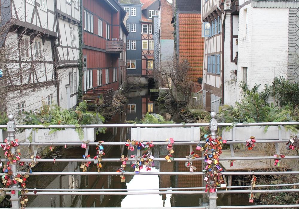 """Nicht mehr nur in """"Klein Venedig"""", auch in anderen Ecken der Wolfenbütteler Innenstadt soll das Element Wasser in Zukunft mit eingebaut werden. Foto: Jan Borner"""