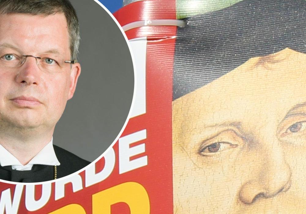 Laut der Landeskirche missbraucht die NPD  Luther für ihren Wahlkampf. Foto: Evang. Landeskirche Braunschweig/Frederick Becker