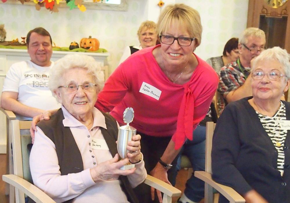 Die Gewinnerin Hildegard Hartwig. Foto: Bürgerstiftung Braunschweig