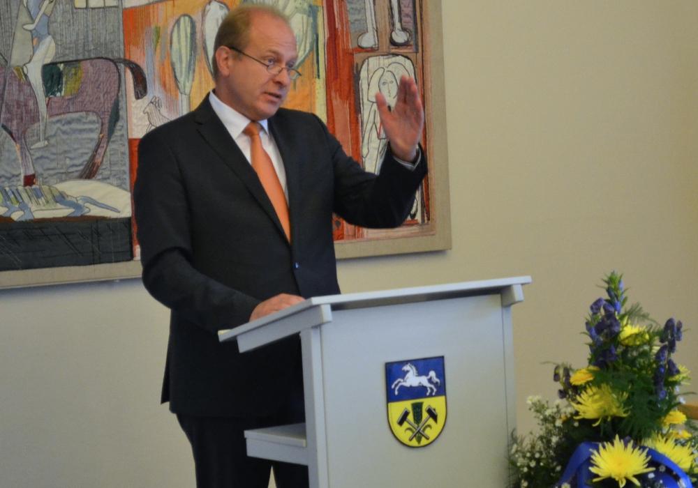 Gerhard Radeck ist nun seit über 100 Tagen im Amt. Foto: Nicole Wiedemann