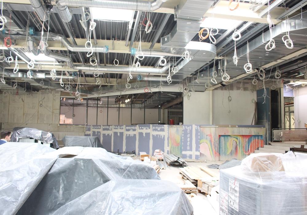 Während die aktuellen Bauarbeiten im Gange sind, streiten sich der Rat, ob noch weitere notwendig sind. Foto: Nino Milizia