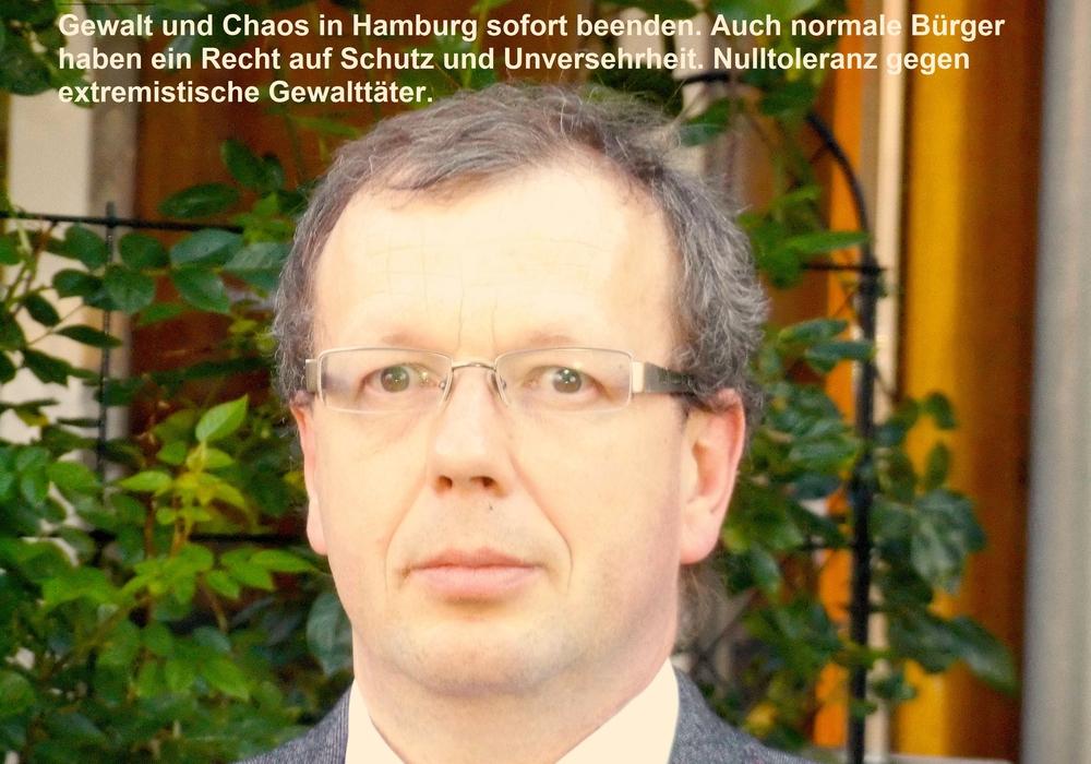 Stefan Marzischewski-Drewes, Fraktionsvorsitzender der AfD im Gifhorner Kreistag. Foto: privat