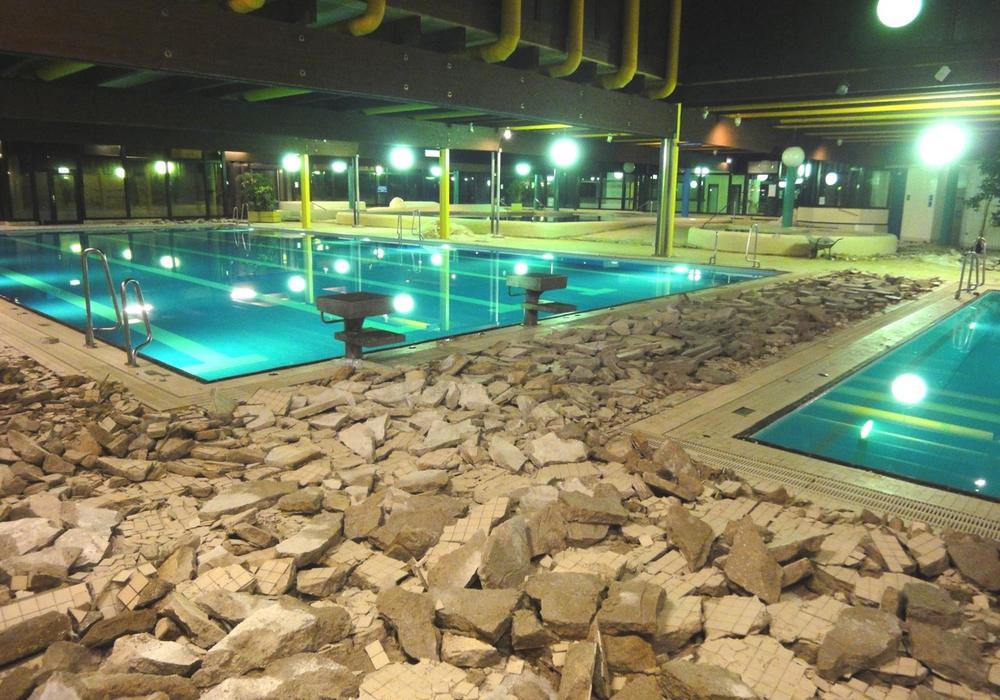 Das Gliesmaroder Bad wird umgebaut. Foto: Arthur Schmieding