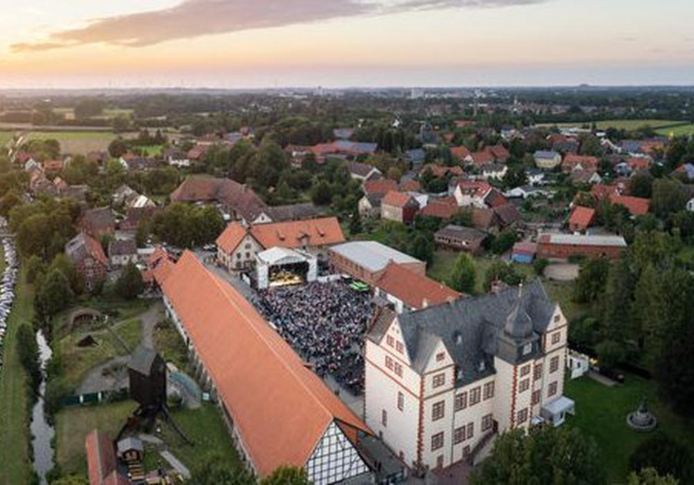 Der Stadtgeburtstag wird am Schloss Salder gefeiert. Foto: Stadt Salzgitter