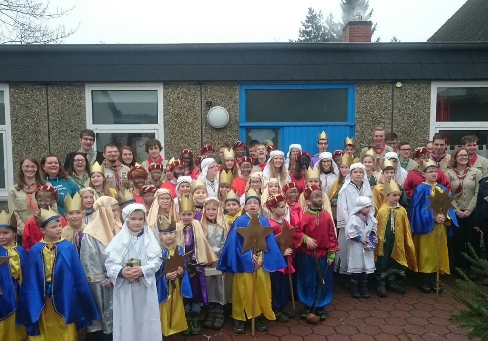 Zahlreiche Kinder gingen auch dieses Jahr als Sternsinger durch Gifhorn.