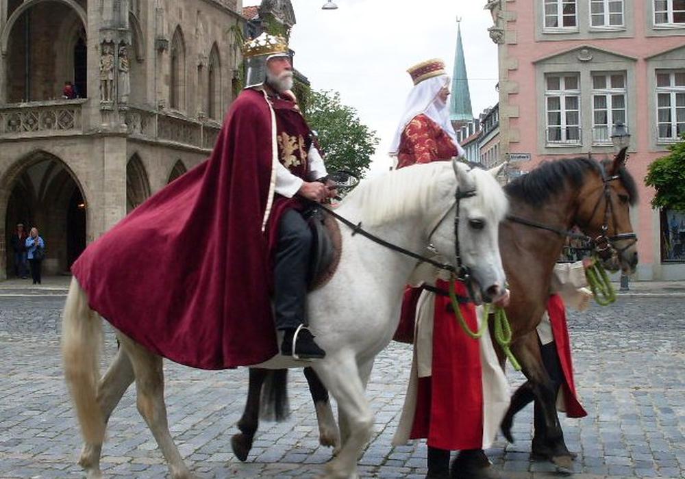 """Die Aufführung der """"Heinrich-Saga: Der Schwarze Ritter"""" wird abgesagt. Foto: Privat"""