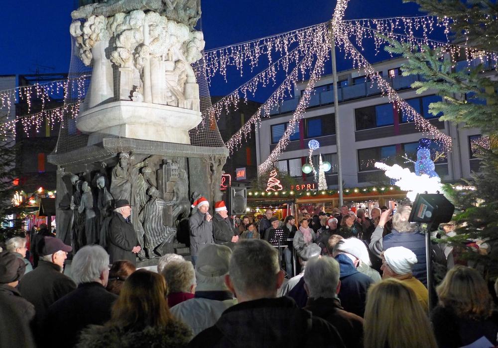 Offizielle Eröffnung des Weihnachtsmarktes in Salzgitter-Lebenstedt. Foto: Stadt Salzgitter