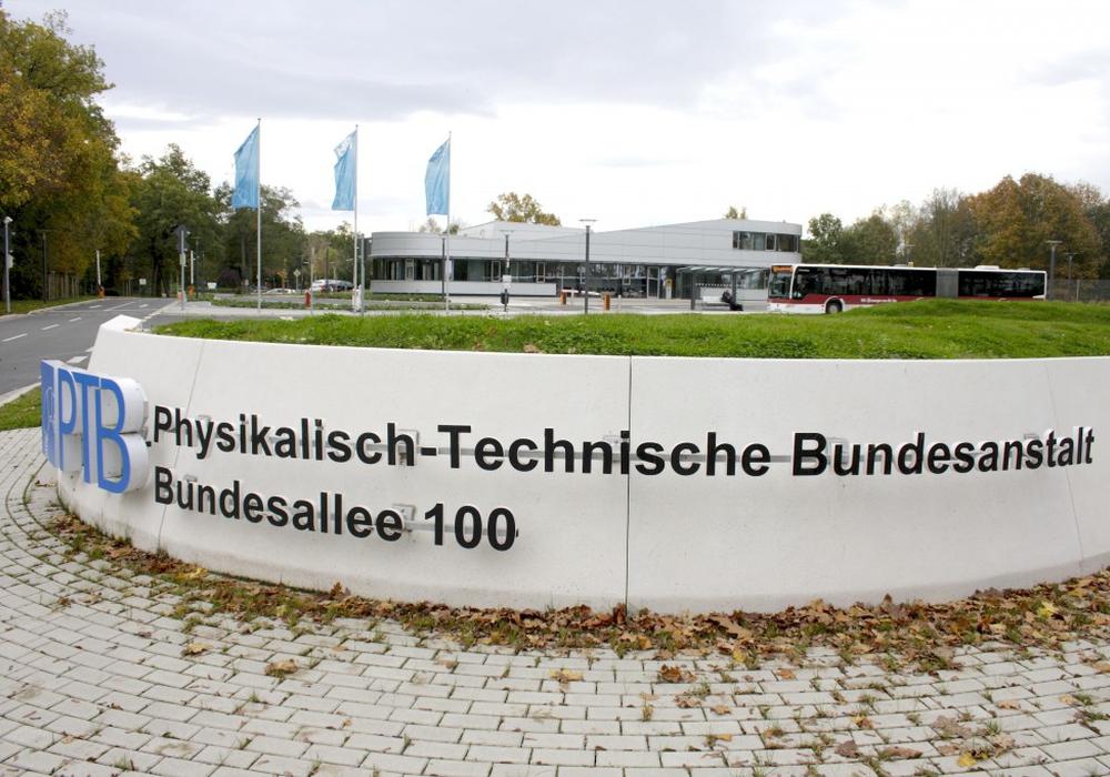 Die Physikalisch-Technische Bundesanstalt in Braunschweig. Foto: W. Heise