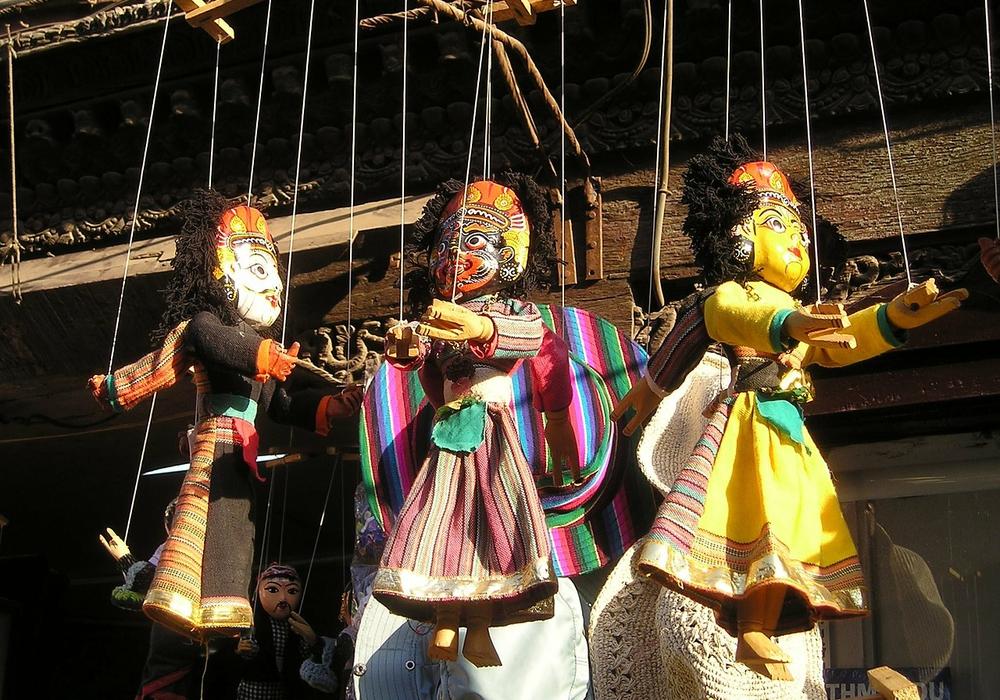 Ausstellung über Marionettenspielkunst im Altstadtrathaus. Symbolfoto: pixabay