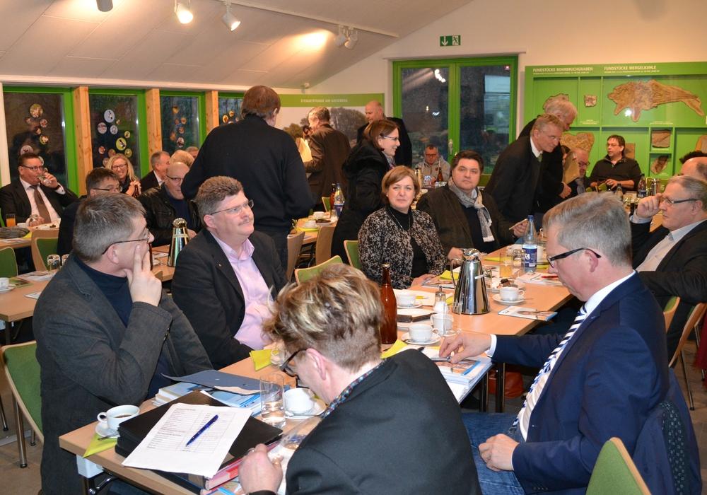 Verbandsversammlung im Natur-Erlebnis-Zentrum in Hondelage. Fotos: Wasserverband Weddel-Lehre