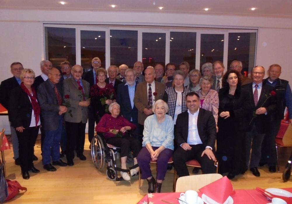 Die SPD ehrte Jubilare für langjährige Treue. Foto: privat