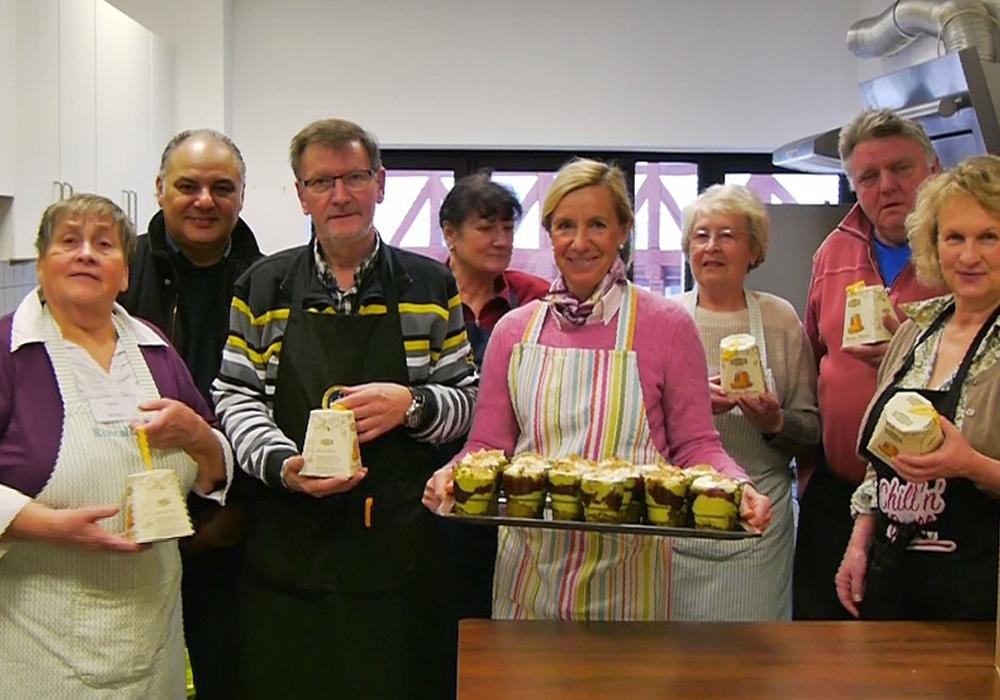 Die CDU half in der Suppenküche. Foto: privat