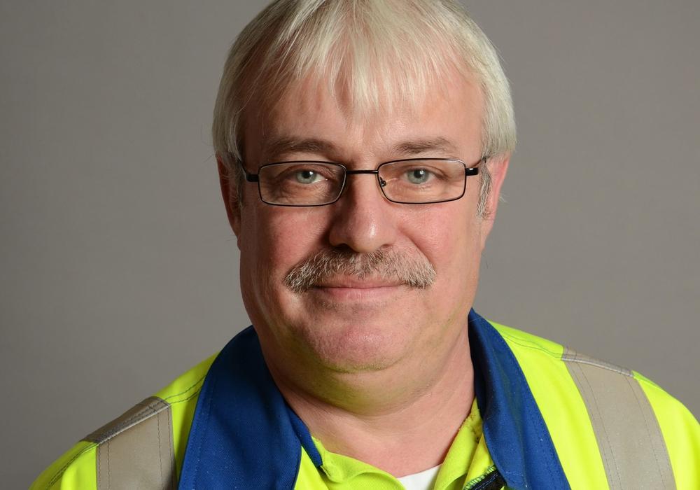 Der wiedergewählte IG Metall-Betriebsrat und Betriebsratsvorsitzende Dirk Schilling. Foto: IG Metall Wolfsburg