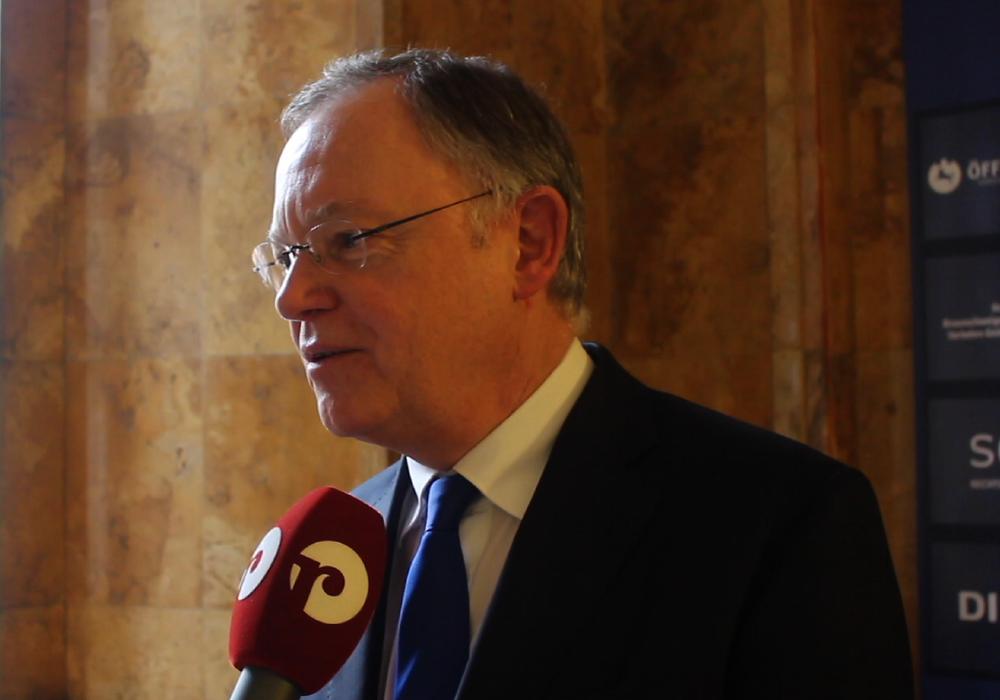 Der niedersächsische Ministerpräsident Stephan Weil. (Archivfoto)