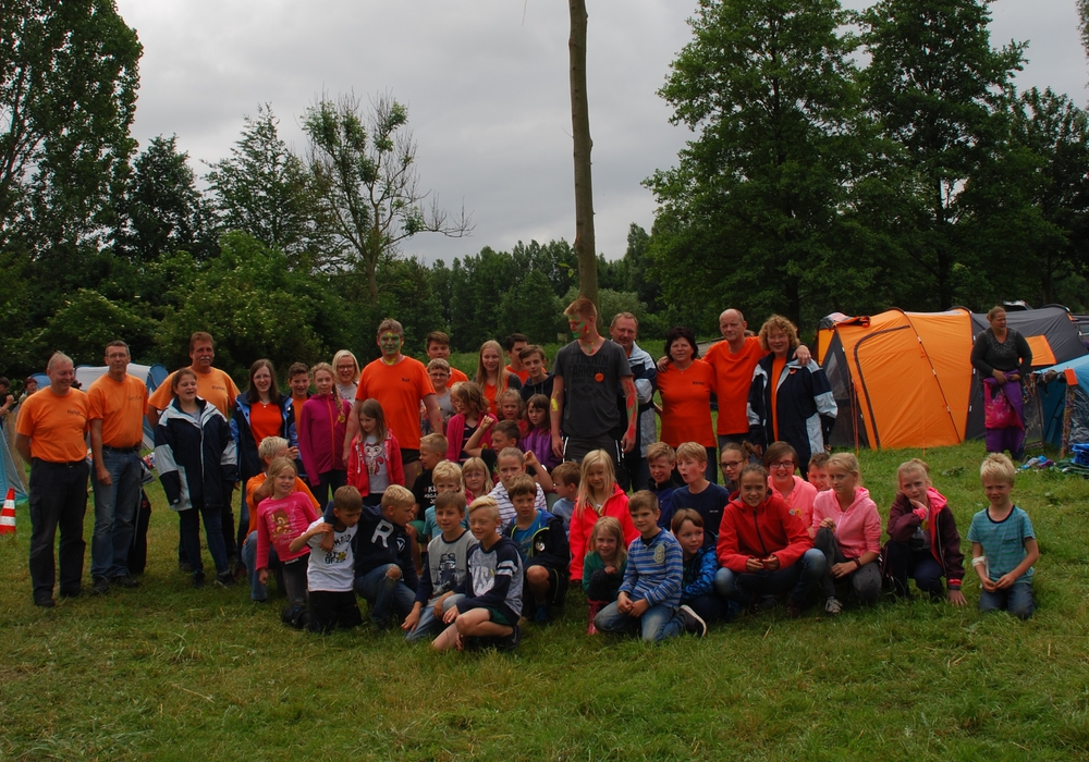 Jugendliche zelteten beim Jubiläumszeltlager der Jugendfreude Werlaburgdorf. Foto: Jill Geske-Gloger