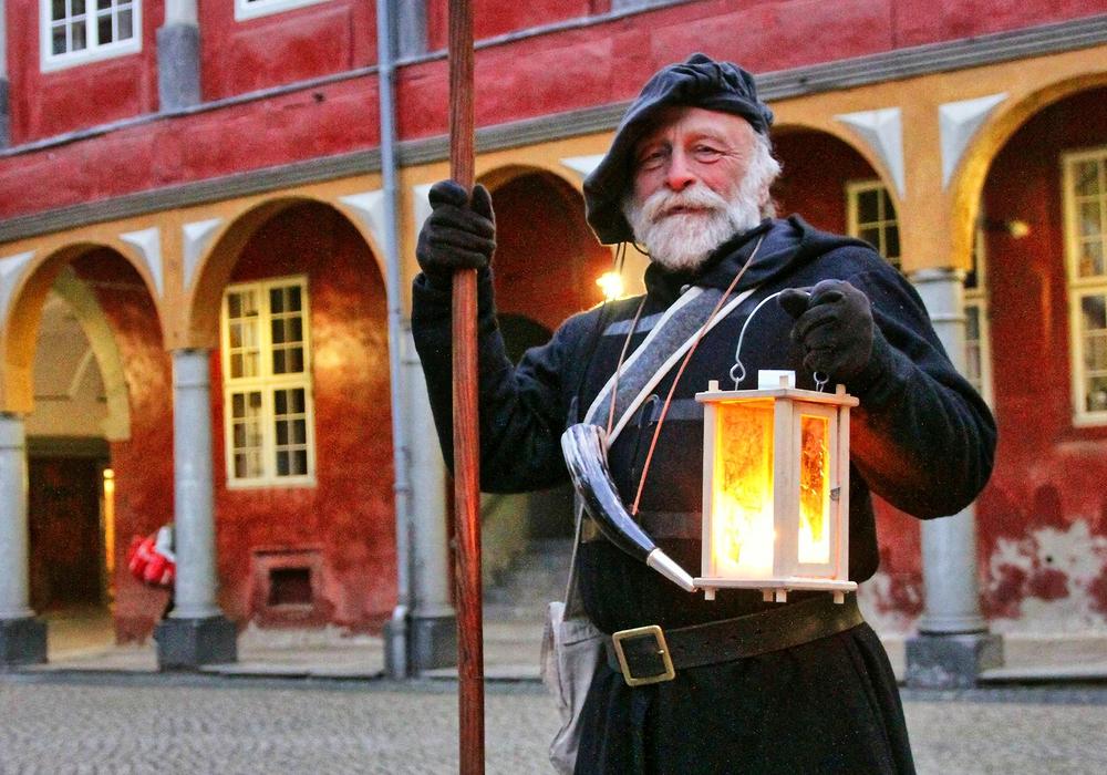 Am 2. Juni wird wieder eine Führung mit dem Nachtwächter angeboten. Foto: Stadt Wolfenbüttel/König