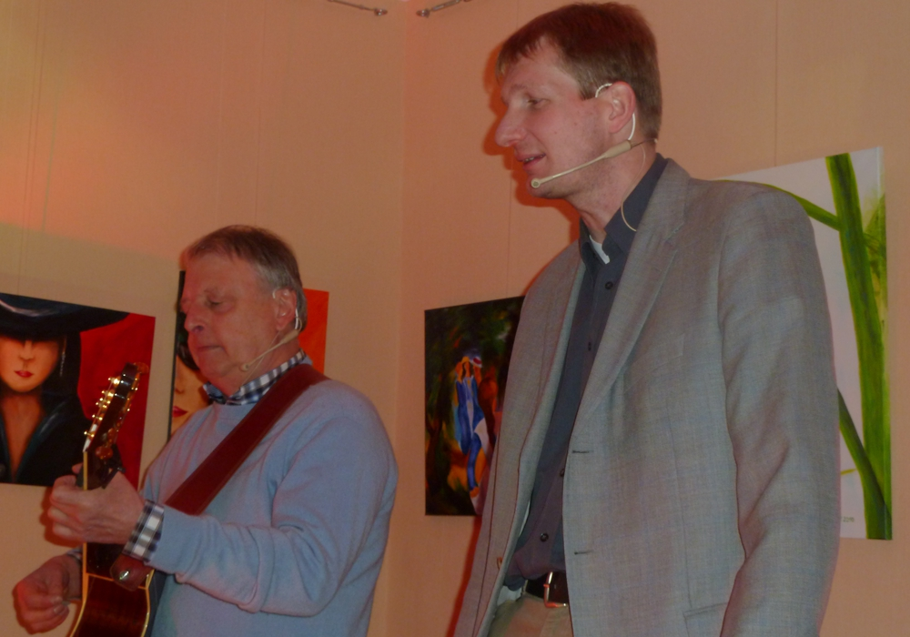 Das Duo Cawerla. Foto: Privat