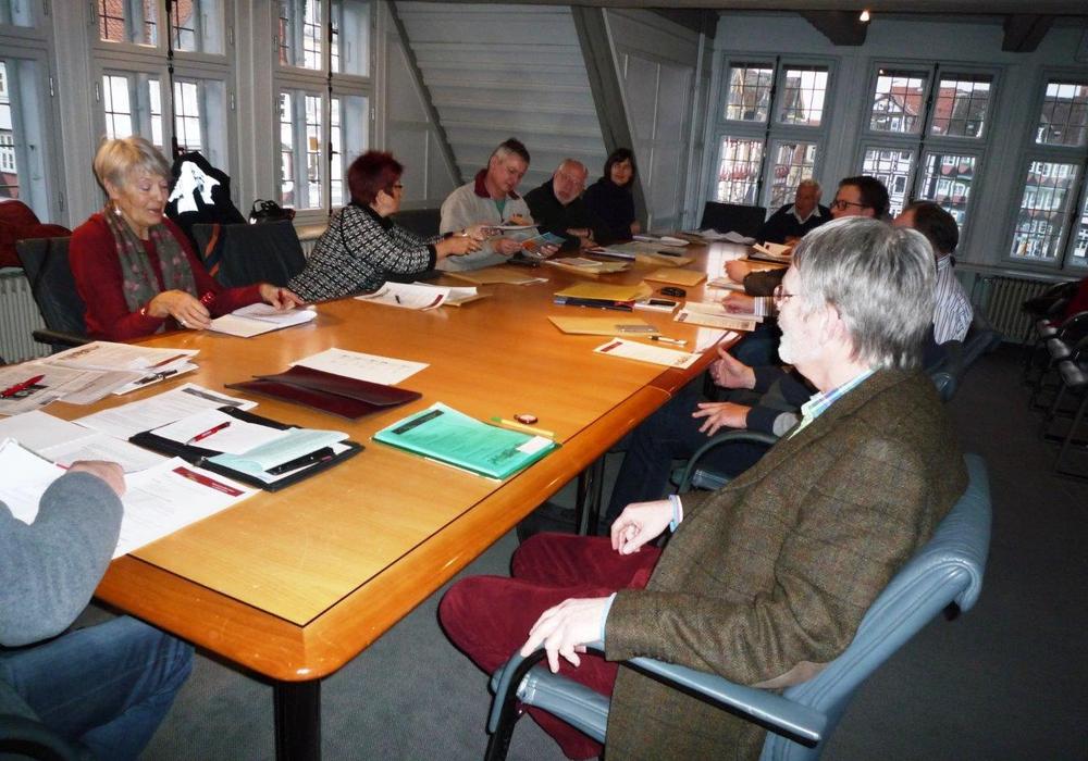 """Der Verein """"Jahreszeiten"""" zu Besuch im Rathaus. Foto: Privat"""