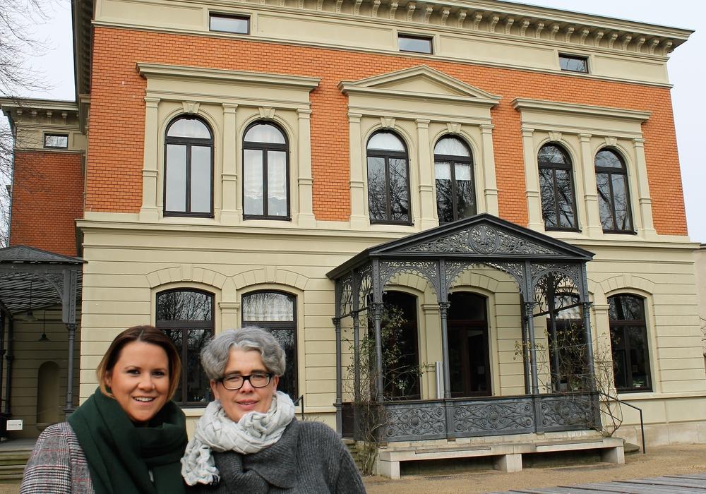 v.l. Insa Heinemann und Susanne Hauswaldt. Foto: Der Löwe