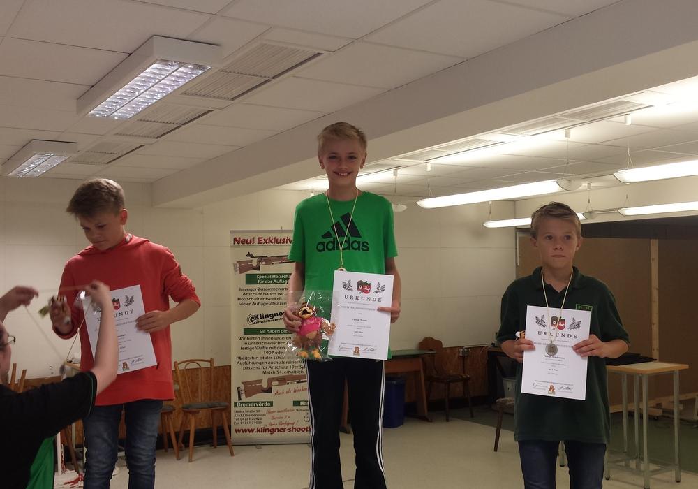 Der 12-jährige Philipp Dominik Wendt belegte den ersten Platz. Foto: Wendt