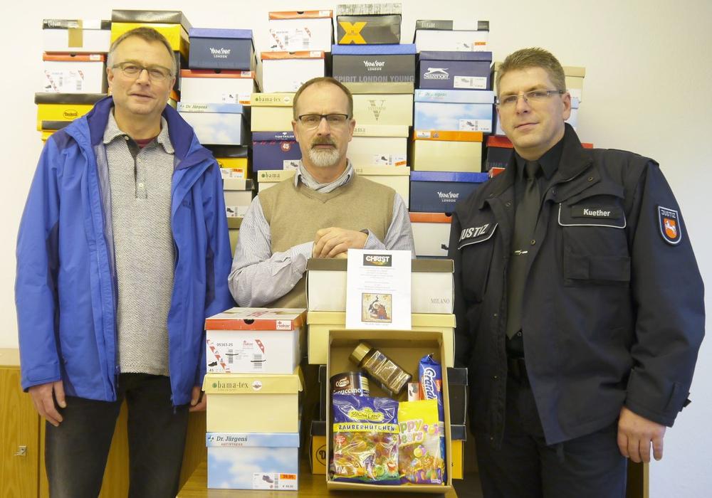 Pakete für Untersuchungshäftlinge. Foto: Detlef Schötz