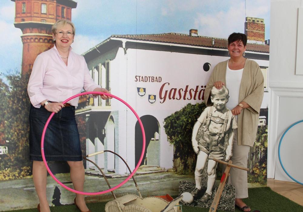 Museumspädagogin Cortina Teichmann und Museumsleiterin Dr. Sandra Donner. Foto: Max Förster