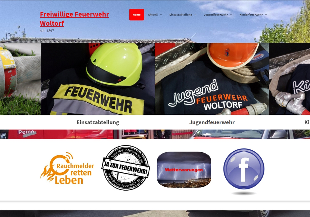 Die Freiwillige Feuerwehr Woltorf hat ihre Internetseite neu gestaltet. Foto: Feuerwehr Woltorf