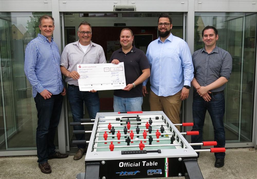 Das ITZ Wolfenbüttel konnte sich über eine Spende des Round Table freuen. Foto: