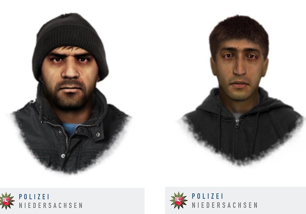 Wer Hinweise zu den Tätern geben kann, wird gebeten, sich mit der Polizei in Gifhorn unter: 05371-9800 in Verbindung zu setzen. Phantomskizzen: Polizei Niedersachsen