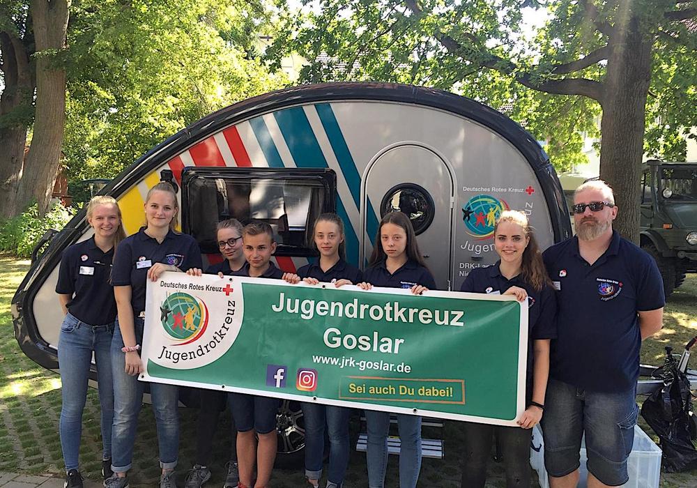 Die teilnehmenden Jugendrotkreuzler und Betreuer. Foto: JRK Goslar