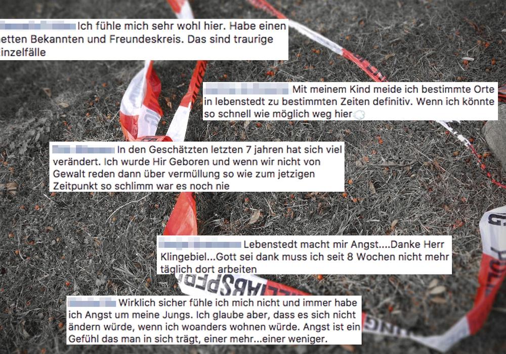 Das sagen die Facebook-User über die Sicherheit in Salzgitter. Foto: Alexander Panknin/Facebook