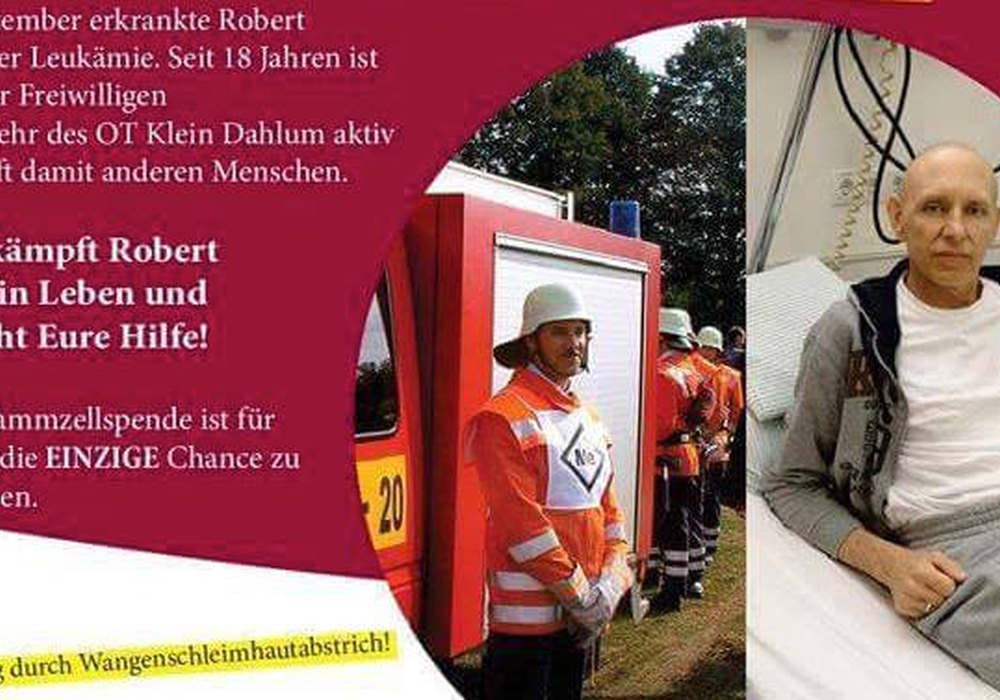 Es gibt wieder Hoffnung für Robert Jakob. Foto: NKR