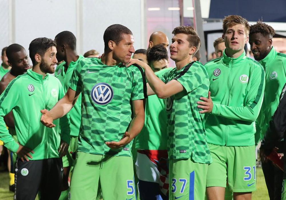 Wer bleibt, wer geht beim wiederholten Neuanfang des VfL Wolfsburg? Foto: Agentur Hübner