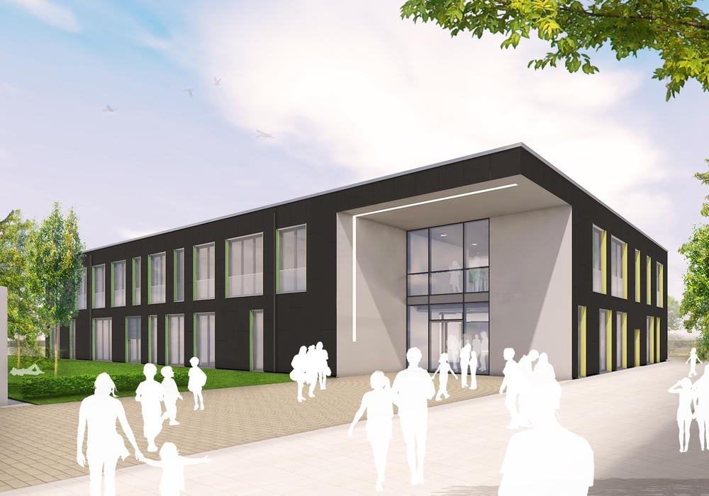 Der Neubau ist mit einer offenen Bauweise geplant. Bilder: GÖDDE Architekten