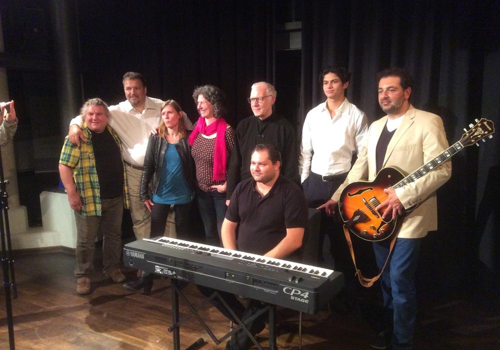 Das Romeo Franz Ensembles spielte in der Schünemannschen Mühle. Foto: Julius Stange