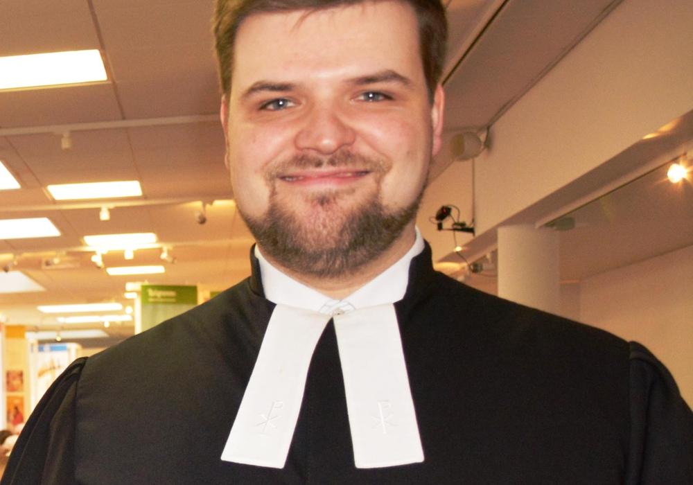 Pastor Titus Eichler. Foto: Kirchenkreis Peine