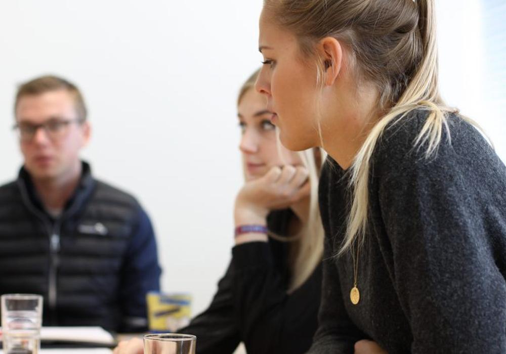 """An der Ostfalia wird ein Workshop zum Thema  WSelbstpräsentation – wie umgehen mit (Ab)Brüchen im Rahmen von Bewerbungen?"""" angeboten. Foto: Merle Janßen"""