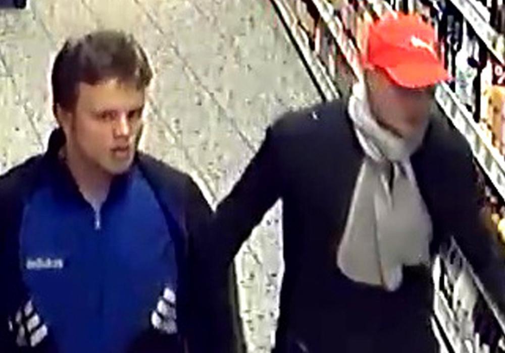 Das Bild aus der Überwachungskamera führte zur Ermittlung der Tatverdächtigten. Foto: Polizei Wolfsburg
