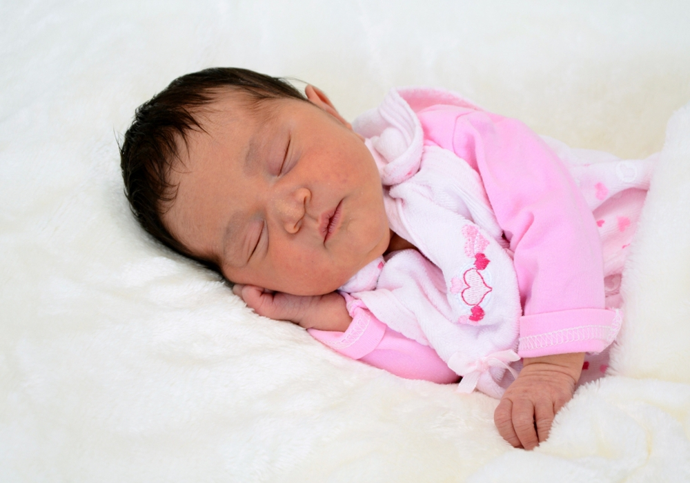 Willkommen: Emily Castro González. Foto: Babysmile